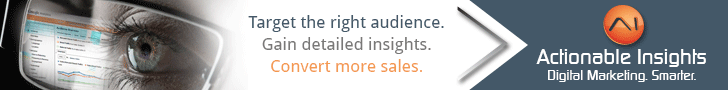 Target the right audience with Actionable Insights