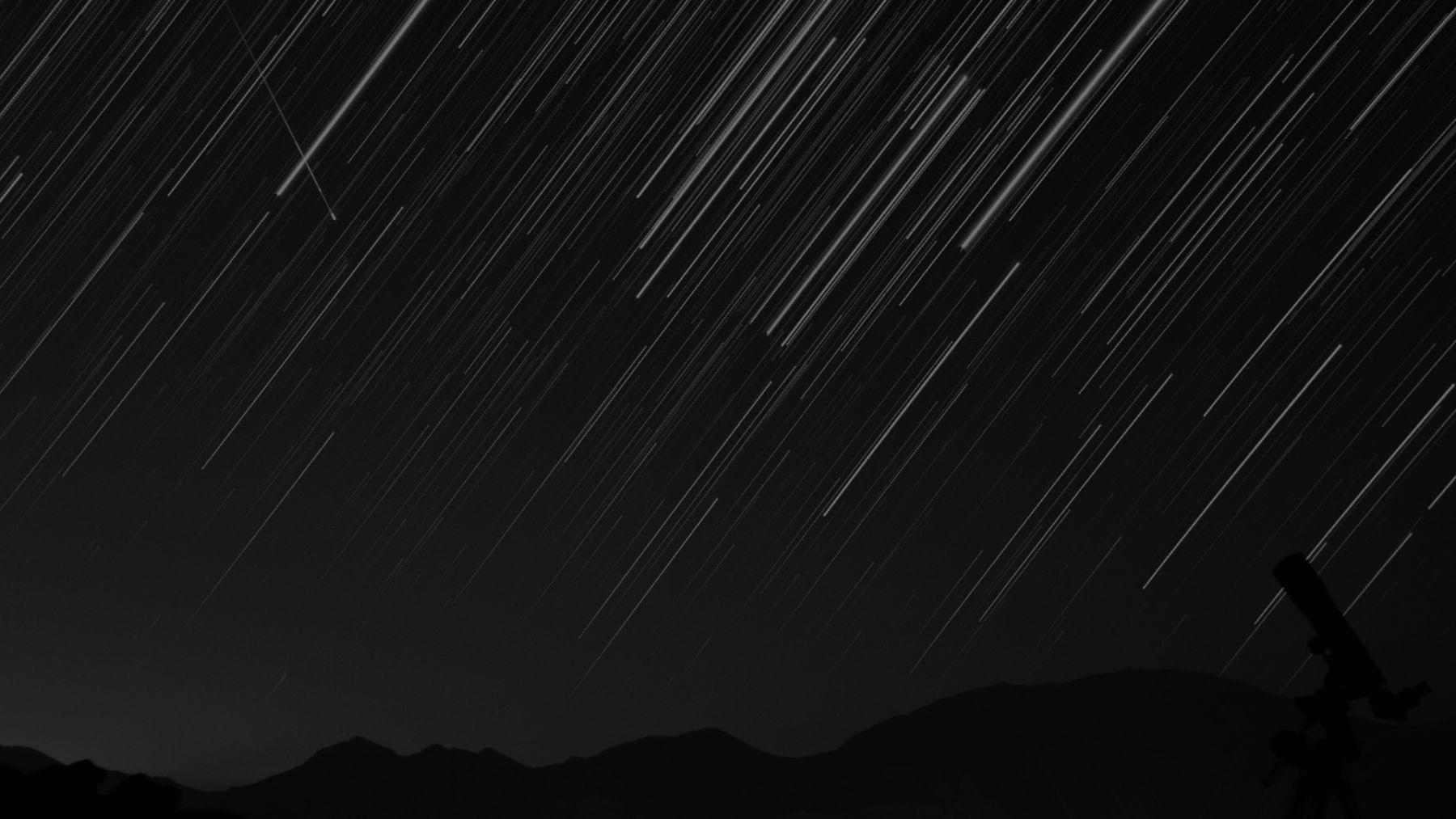 Meteor Shower Background