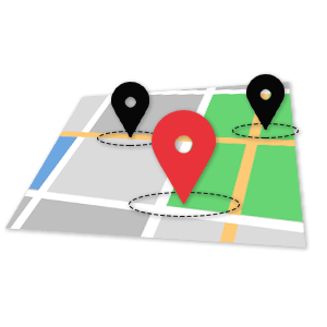 location targeting map